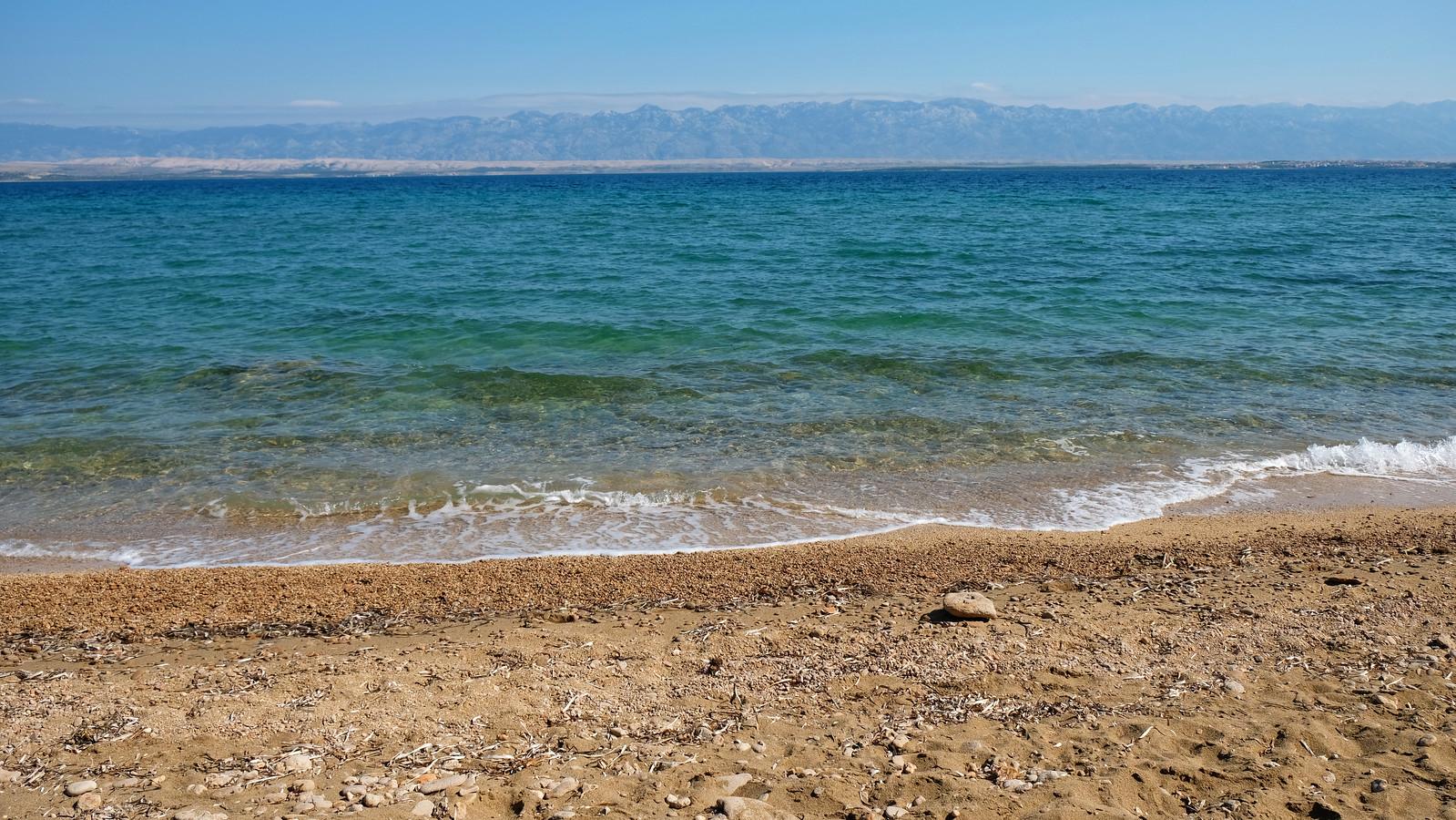 Crvenka Beach, Vir Island, Croatia