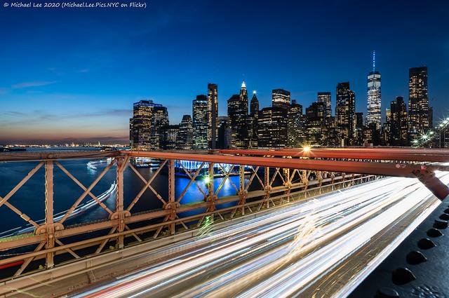 Brooklyn Bridge Light Trails (20201211-DSC09575-Edit)