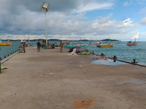 Fishing Jetty at Welligama