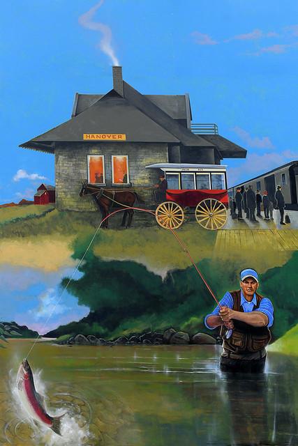 The Fisherman in Hanover