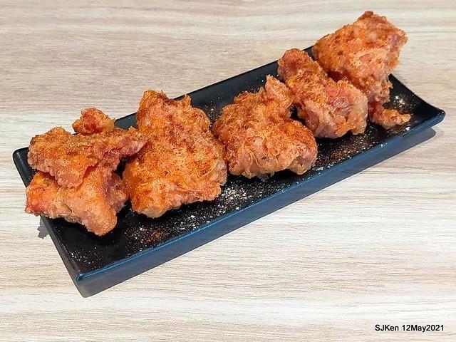 「初面-北投石牌店」(Fried Chicken with Shrimp & tomato soup noodle), Taipei, Taiwan, SJKen, May 12, 2021