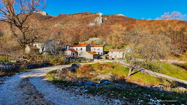Selo Mala Učka u podnožju glavnoga masiva