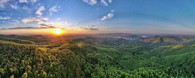 Spring sunset / Dobogókő - Tirts Rezső kilátó