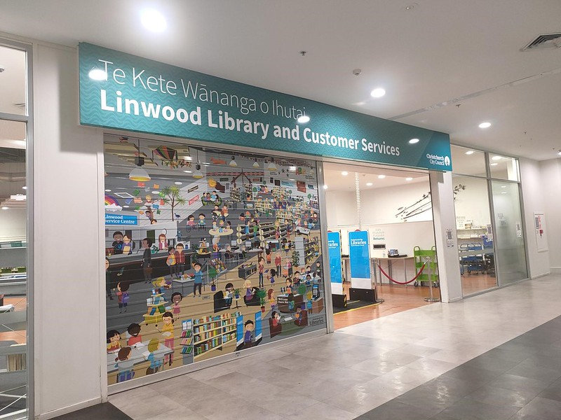 Linwood Library exterior
