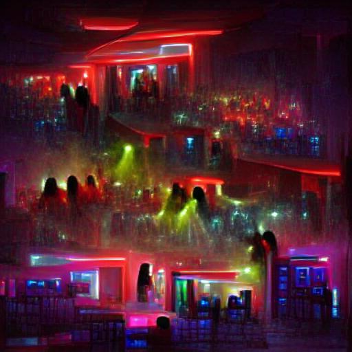 VQGAN-CLIP codebook - Night Club