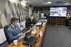 05-05-2021 - Senador Tasso Jereissati participa de oitiva do ex-ministro de Estado da Saúde, Nelson Teich, na CPI da COVID