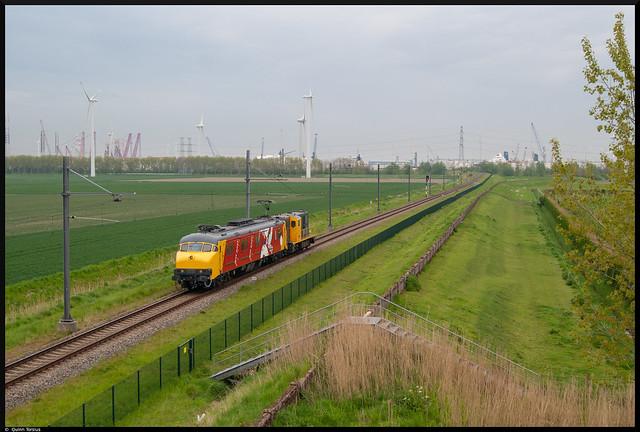 Stichting 2454 CREW MP 3029 + 2454 onderweg naar Rotterdam, 11 mei 2021