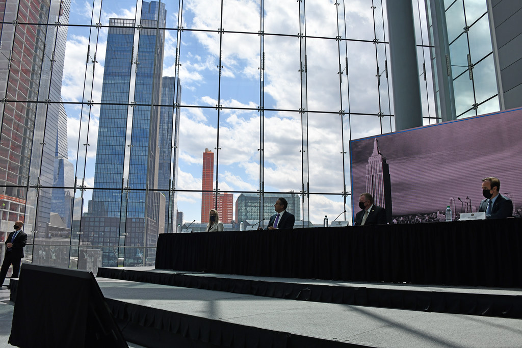Governor Cuomo Announces Completed Construction of the Javits Center Expansion