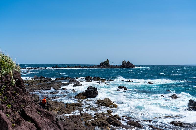 真鶴半島の三ツ石