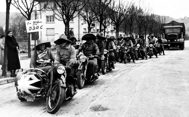 The Zorro Bandito Motorcycle Gang