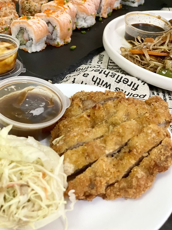 GrabKitchen Paranaque; Kyoto Sushi Bake and Omakase