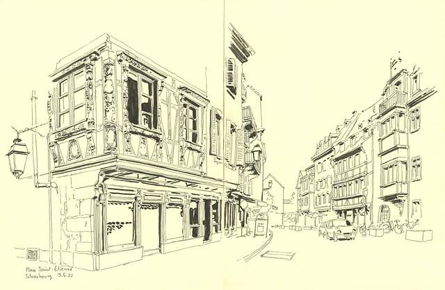 Place Saint-Etienne - Strasbourg