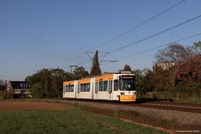 MVG 208 | Mainz-Marienborn Wiesenstraße