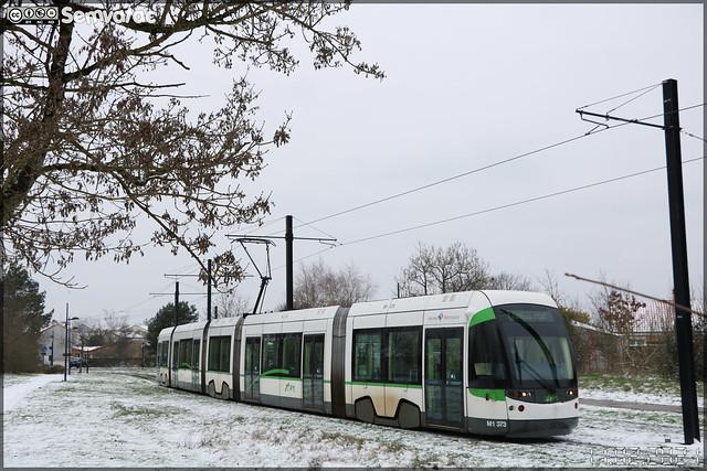 Bombardier Incentro – Semitan (Société d'Économie MIxte des Transports en commun de l'Agglomération Nantaise) / TAN (Transports de l'Agglomération Nantaise) n°373