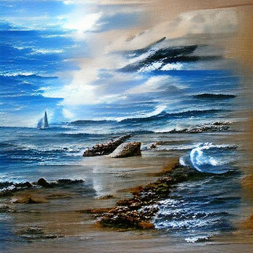 'seascape painting' VQGAN+CLIP codebook Text-to-Image