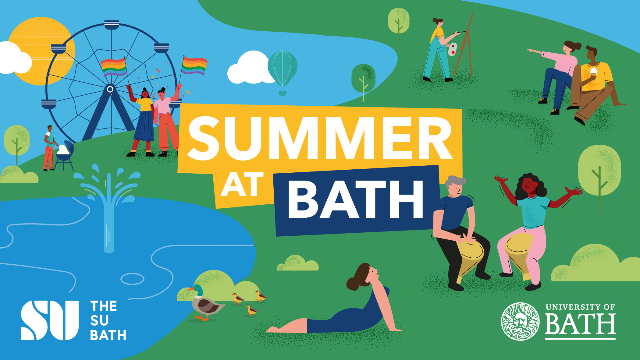Summer at Bath