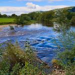 River Usk at Abergavenny
