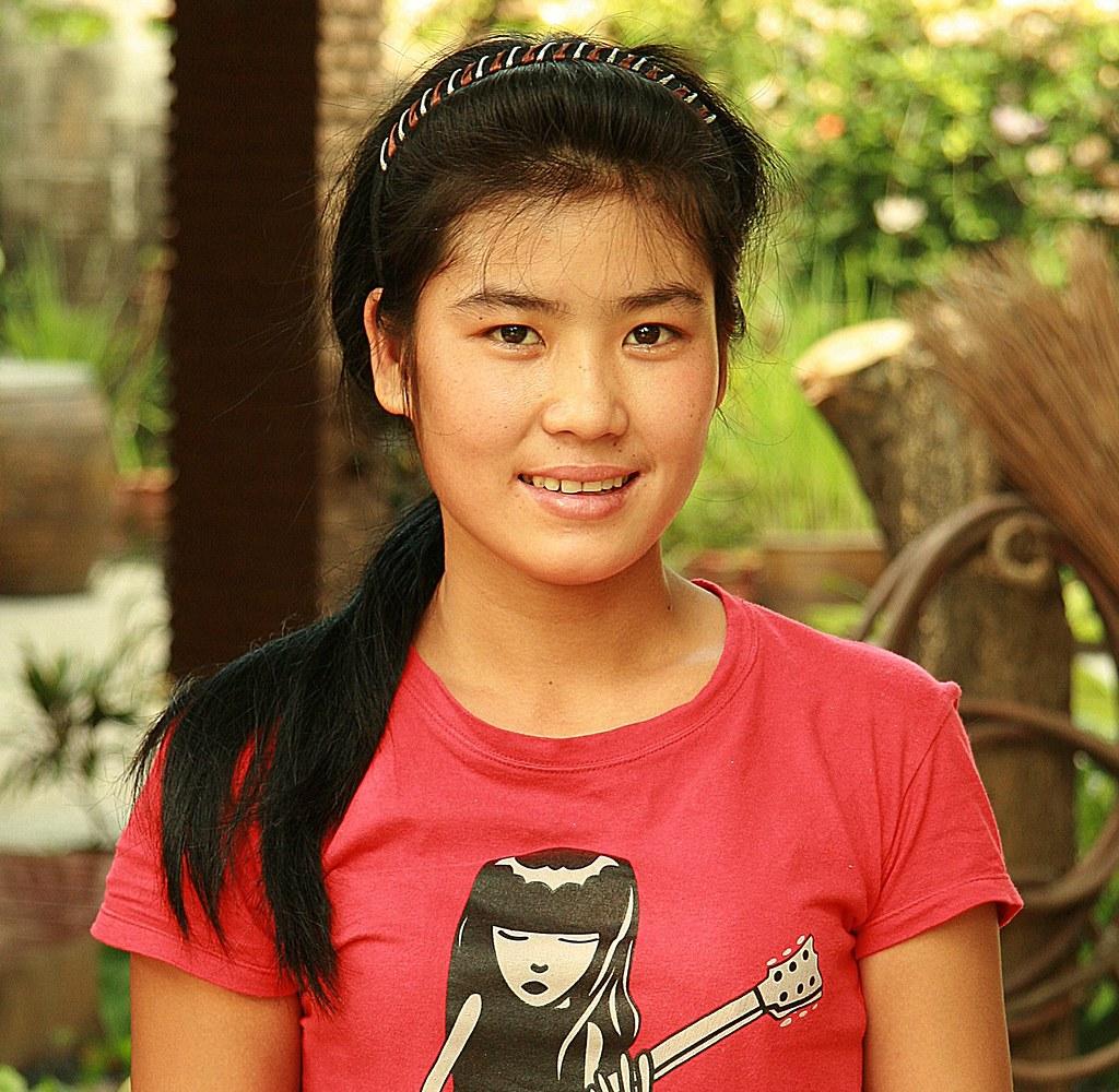 pretty burmese migrant worker (maid)