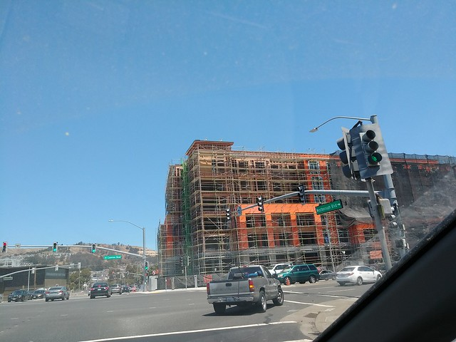 New apartments under construction