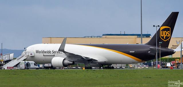 United Parcel Service 🇺🇸️ Boeing 767-300 N393UP