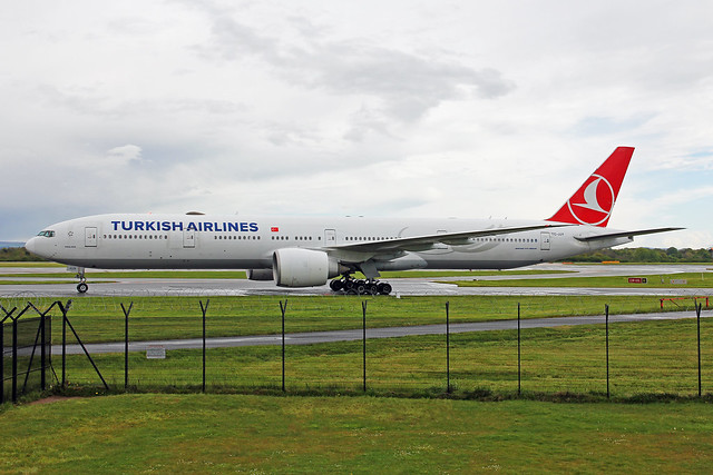 TC-JJY Boeing 777-3F2ER Turkish Airlines MAN 11MAY21