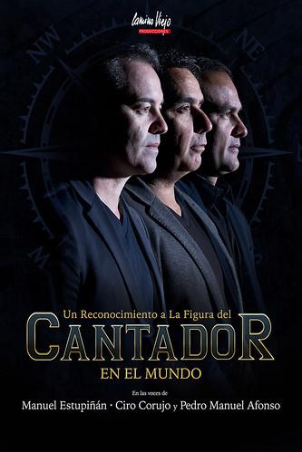 """Cartel promocional del espectáculo """"Cantador"""""""