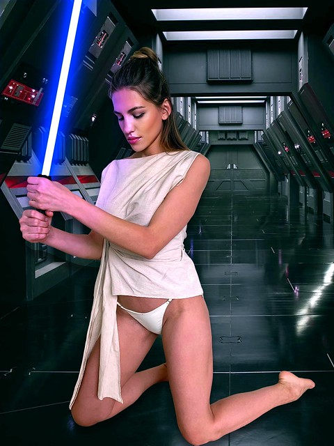 Sneaking around a Star Destroyer in my panties...I mean, what's the worst that can happen?