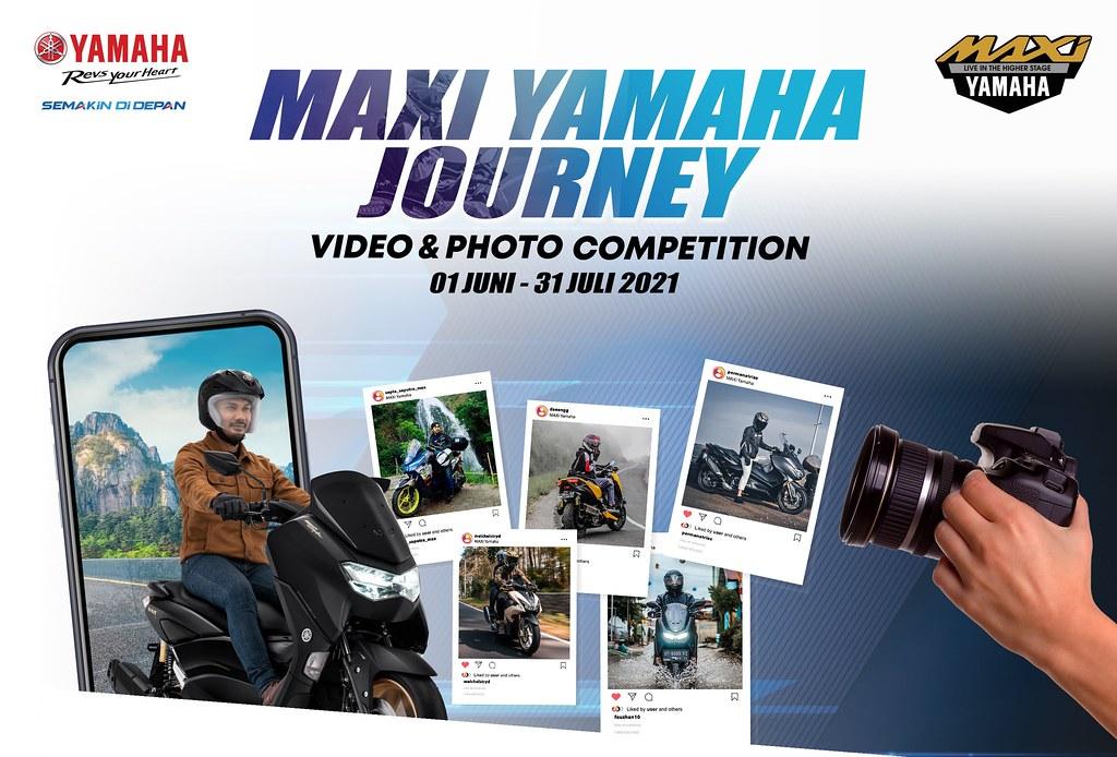 Maxi Yamaha Journey Poster