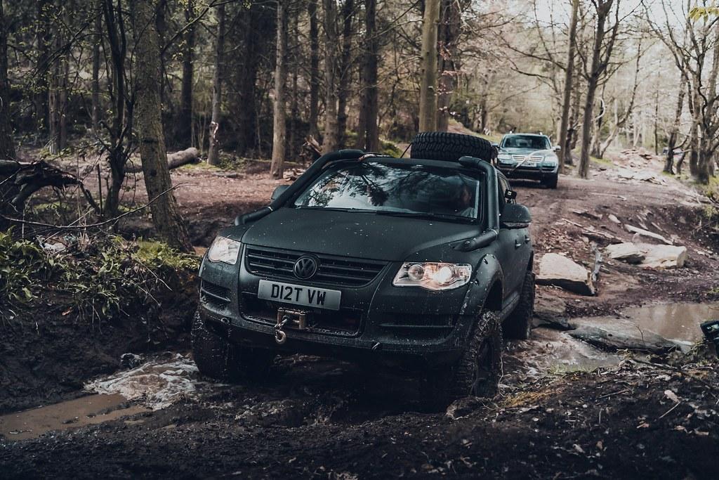 Our V10 Touareg Off-Roading