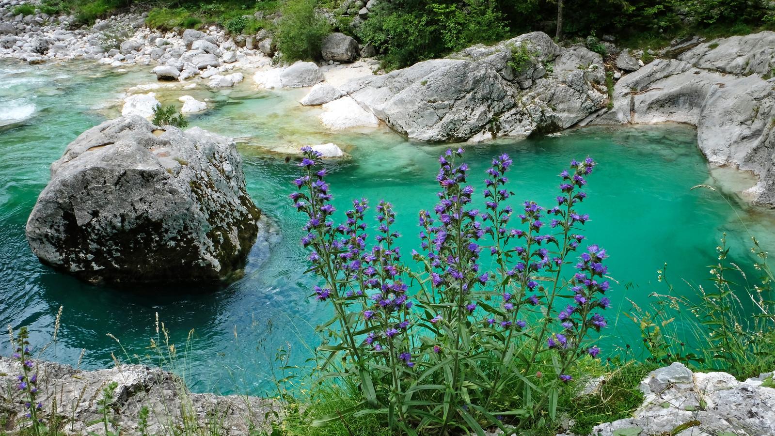 Soča River, Julian Alps, Slovenia