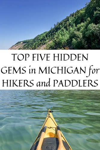 Kayaking Sleeping Bear Dunes. From Top Five Hidden Gems in Michigan for Hikers and Paddlers