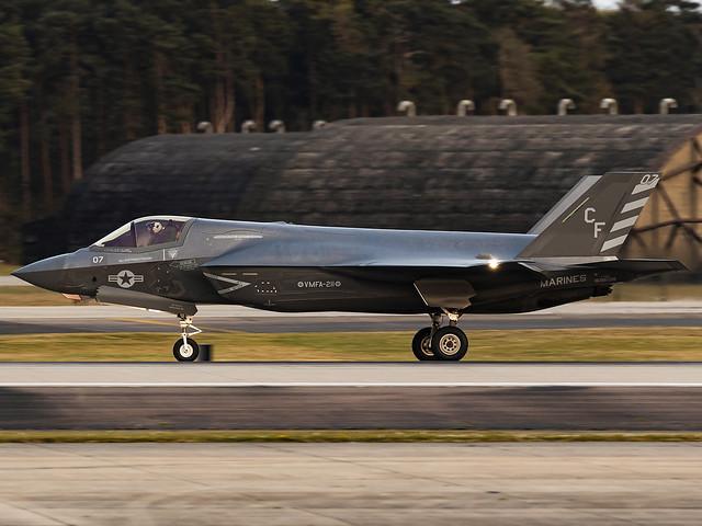 United States Marines VMFA-211 | Lockheed Martin F-35B Lightning II | 169608