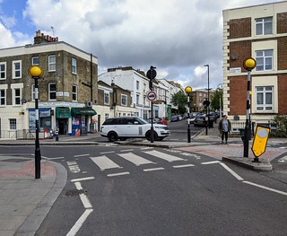 Leighton Road cycle gap