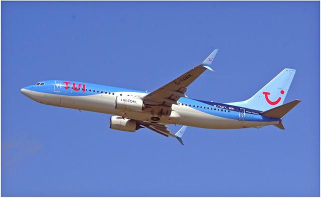 G-TAWK   Boeing 737-8K5   TUI.