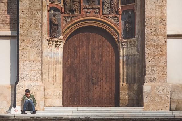 Church of St Mark. Zagreb, Croatia