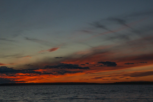 Sunset, Waskesiu Lake, Prince Albert National Park