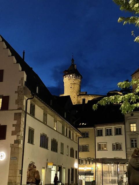 Munot Schaffhausen by night
