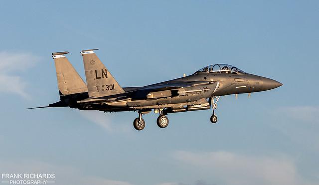 F-15E 91-301 | RAF Lakenheath