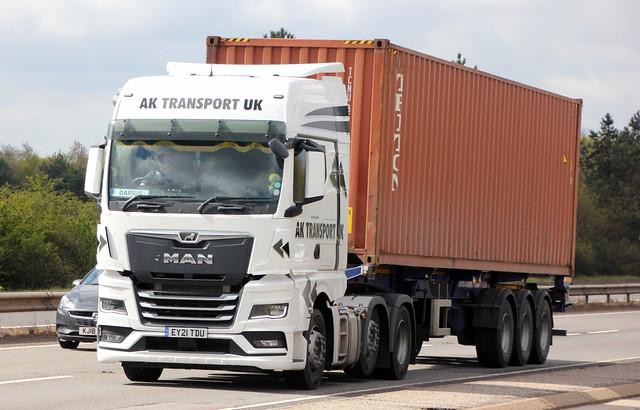 AK Transport UK - EY 21 TDU