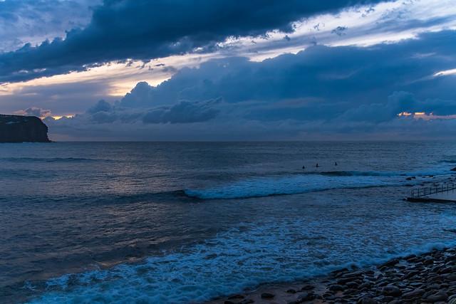 The Blues - Cloudy Seascape