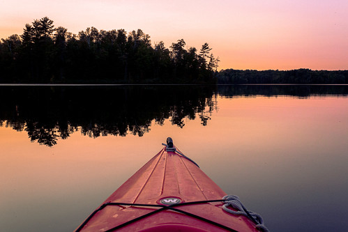 Big Island Lake Wilderness. From Top Five Hidden Gems in Michigan for Hikers and Paddlers