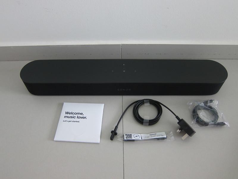 Sonos Beam - Box Contents