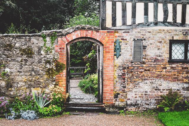 Ightham Mote, Kent アイタム・モート、ケント州、イギリス