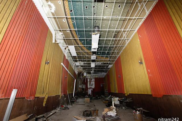 Racine Hidden Capitol Theater Old Ceiling