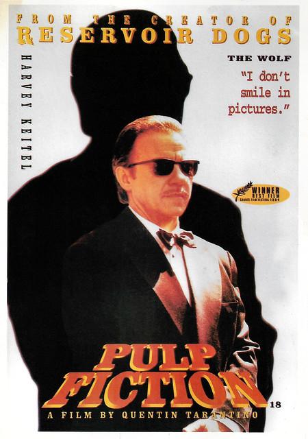 Harvey Keitel in Pulp Fiction (1994)