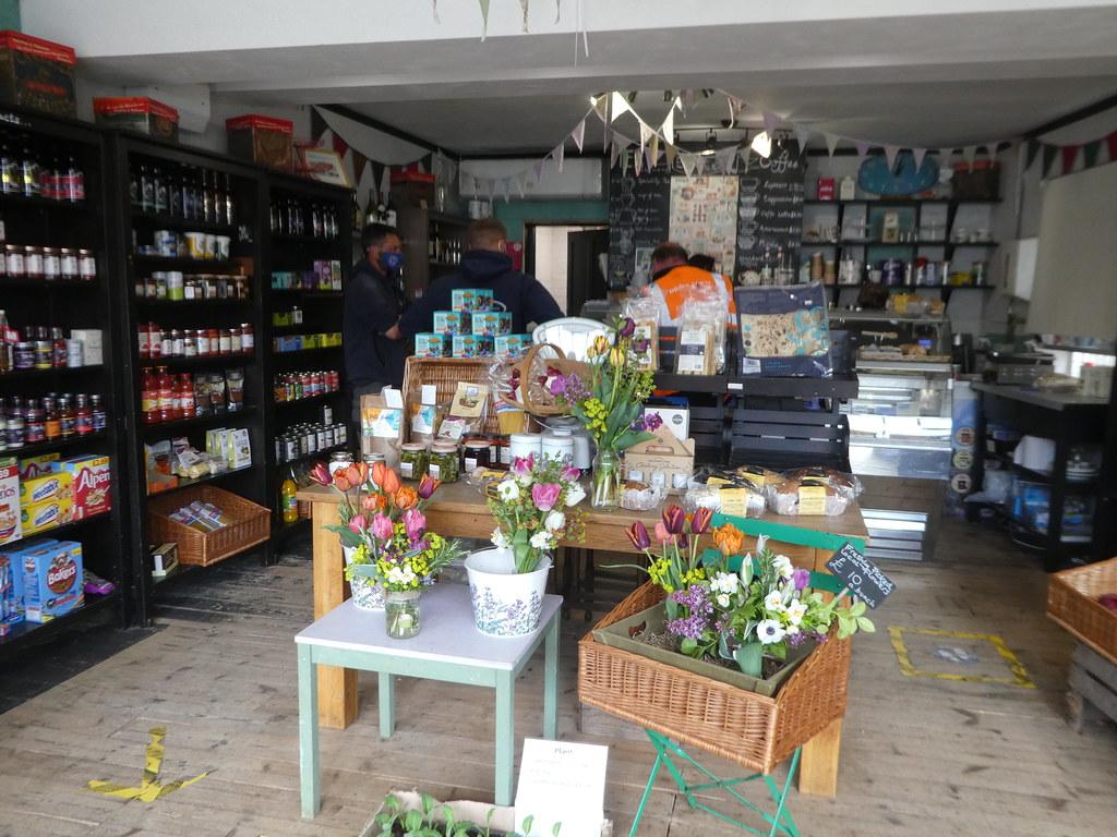 Interior of the Woolhampton Village Shop