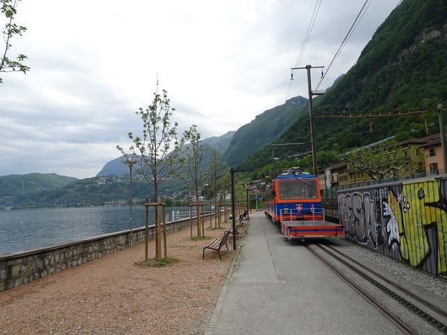 """""""Bahnhof"""" Capolago Lago"""