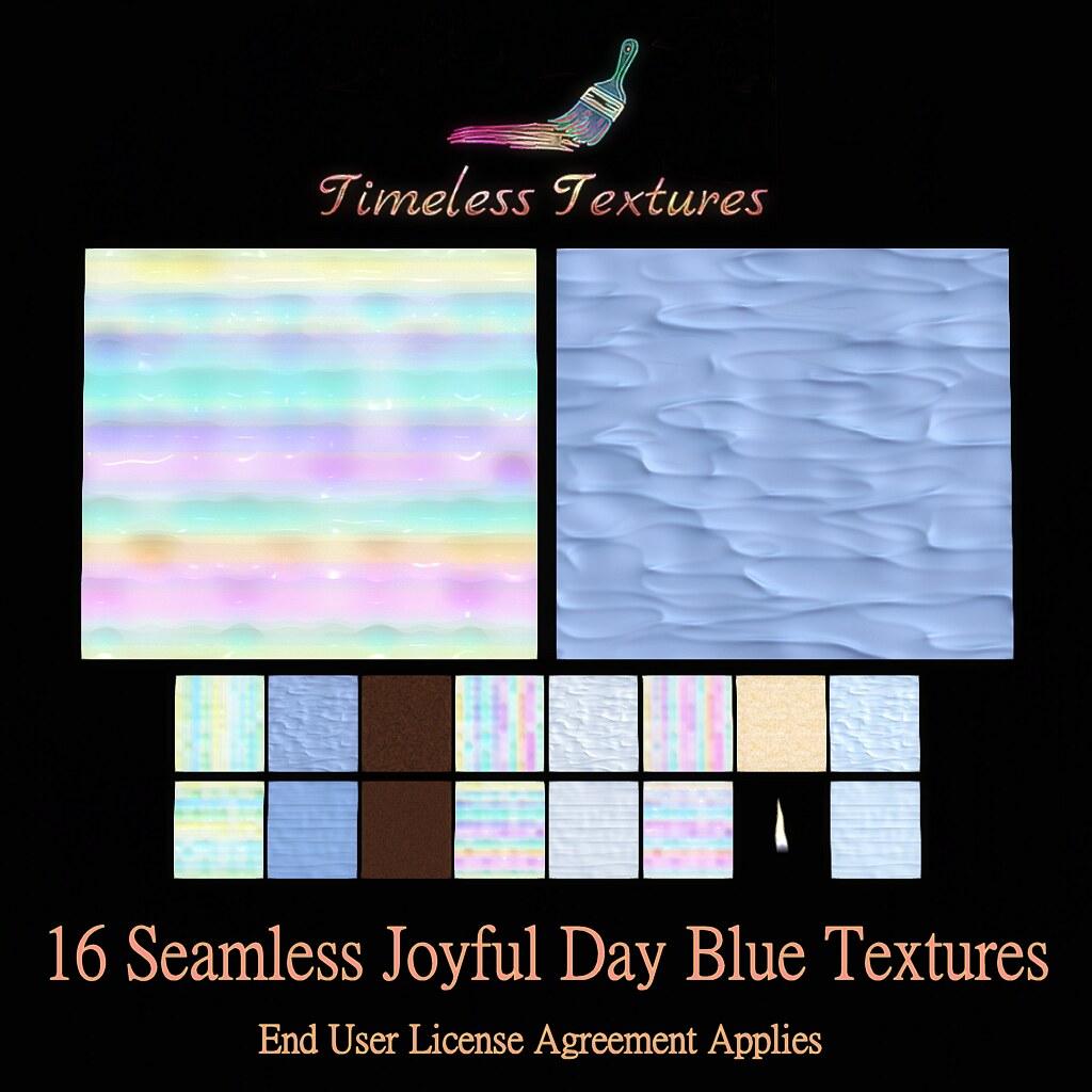 TT 16 Seamless Joyful Day Blue Timeless Textures