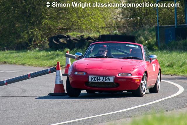 Mazda MX5 Oliver Michaels won Class D