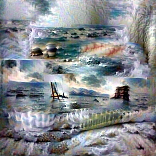 DeepDaze - Seascape Painting